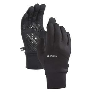 Head mens Ultrafit Sensatec Touchscreen Lightweight Running Gloves XS