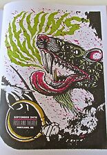 The Melvins MIni-Concert Poster Reprint for Portland Oregon 14x10