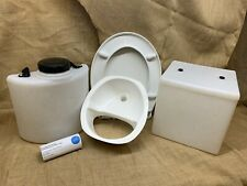 Build-Your-Own Composting Toilet Kit - Components Only (without frame)