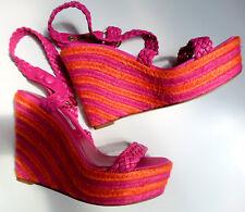T O P Orig BRIAN ATWOOD Damen Leder Sandalette Wedge Art. in Gr 38 e v t 38.5