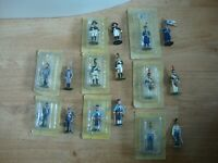 L150 Job Lot of 8 x Eaglemoss Napoleonic War Figures - 1/32