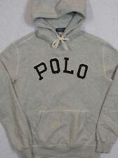 Polo Ralph Lauren Hoodie Logo Hooded Sweatshirt Gray XXL NWT