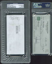 CK 83902632 Hank Aaron Braves Signed Autographed 1994 Check PSA DNA Signature