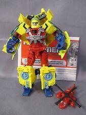 """Transformers Universe """"HOT SHOT w/ JOLT"""" Classics 100% complete C9 2008"""