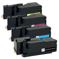 4 x Toner Cartridge for Dell 1250c 1350cnw 1355cn 1355w C1760nw C1765nf C1765nfw