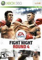 Fight Night Round 4 - Authentic Microsoft Xbox 360 Game