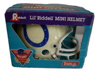 Indianapolis Colts Riddell Mini Football Helmet 3 5/8 from 1990's SEE CONDITIONS
