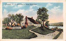 WAKEFIELD VIRGINIA BIRTH PLACE OF GEORGE WASHINGTON~W B GARRISON POSTCARD 1920s