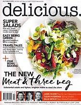 ABC Delicious Magazine October 2015 Issue 153 - Super Salads