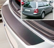 VW Passat B5 Variant - Carbon Style rear Bumper Protector