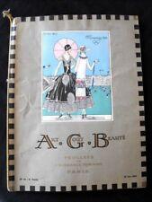 Art Goût Beauté Juin 1924 Olympiades Paris Art-Déco Feuillets Elegance Féminine