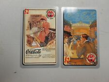1995 Coca-Cola 2 minute calling card lot of 2! RARE AND UNUSED Sprint card! LOOK