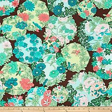 Floating World Torimoto Floral Asian Sorbet  Cotton Quilt Fabric BFab