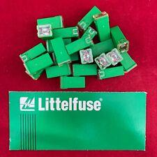 Set of 5: OEM Genuine LittelFuse Automotive Standard J Case 40 Amp 32V JCASE