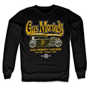Officially Licensed Gas Monkey Garage - Green Hot Rod Sweatshirt S-XXL Sizes