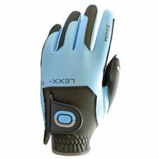 Zoom Weather Golf Gloves to Wear on My Left Hand Charcoal-light Blue