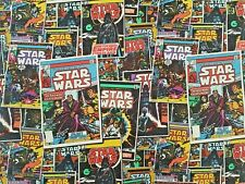STAR WARS COMIC BOOK -  100% CRAFT COTTON PRINT FABRIC - CAMELOT