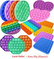 Push Pop for it Bubble Fidget Toy Sensory Stress Relief Special Needs Autism  US