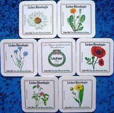 Bierdeckel Serie Sammlung Lich Hessen Licher Bierologie - Blumen