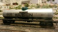 Athearn Vintage HO BB Warren Single Dome Tank Car, Exc.