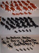 1:64 ERTL LOT of 75 = ERTL *HOLSTEIN ANGUS & HEREFORD* Cows & Calfs Cattle NIP