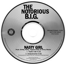 The Notorious B.I.G., J.E., Nelly, Diddy NASTY GIRL (Promo CD Single) (2005)