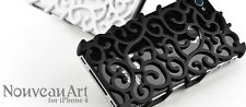 Ion Nouveau Art Case for iPhone 4 / iPhone 4s Matt Black Color