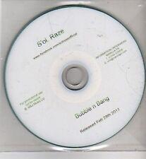 (CI33) S'ol Raze, Bubble n Bang - 2011 DJ CD