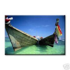 """cc art - CANVAS PRINT ARTWORK - THAI BOATS - 24""""x36"""""""