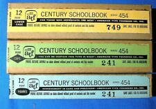 Letterpress Type 12 point Century Schoolbook - full font