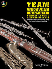 Team Woodwind Clarinet Instrumental Solo Learn to Play FABER Music BOOK & CD
