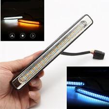 2x 18cm LED Car Driving Turn Indicator Light Fog Lamp White/Blue/Yellow Lighting