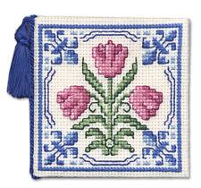 DELFT TULIPANI A Forbice TENERE contati Punto Croce Kit da parte del patrimonio tessile
