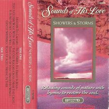 Showers and Storms SOUNDS of His Love (Cassette 1992 Brentwood) Meditation
