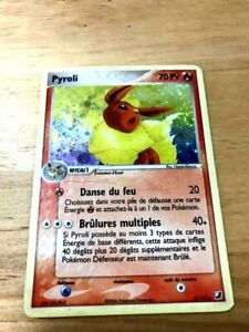 CARTE POKEMON PYROLI 5/115 holo  Version française