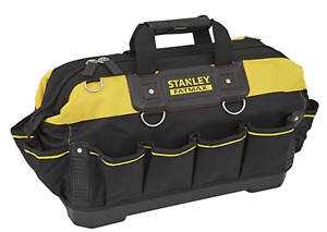 """STANLEY 18"""" TOOL BOX CHEST BAG STORAGE TOTE BAG CADDY HOLDALL CASE STA193950"""