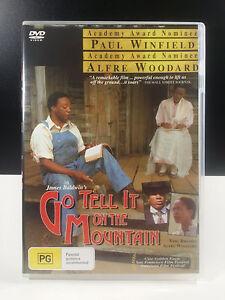 Go Tell It on the Mountain DVD 1984 Rare Movie - Paul Winfield, James Bond III