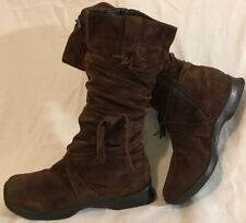 Miss Shop By Tony Bianco Brown Mid Calf Suede Lovely Boots Size 7UK (141vv)
