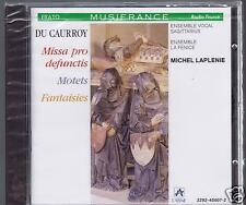 DU CAURROY CD NEW MISSA PRO DEFUNCTIS / MOTETS/ MICHEL LAPLENIE/ LA FENICE