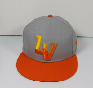 LAS VEGAS LV AVIATORS New Era 59Fifty 5950 MLB Authentic Fitted MiLB Hat Size 8