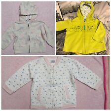 Carter's F&F Baby Girl hoodie sweatshirt bundle size 6-9 months