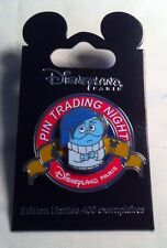 DLRP Pin - Pin Trading Night - Inside Out - SADNESS - Limited Edtion