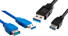USB Extension Cable 3.0 Extender Data Lead Type A Male to Female 2m 3m 5m