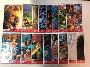 Fantastic Four (2013) #1-16 + 5AU (VF/NM) Complete Set Matt Fraction stories