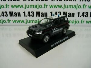 CR17 voiture 1/43 CARABINIERI : LAND ROVER Freelander 2003
