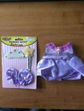 """New *Purple Princess Ballerina Outfit *Fit for an 8-10"""" Teddy Bear or Doll # S2"""