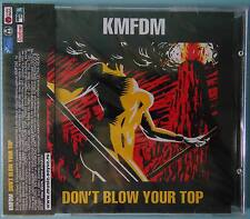 KMFDM - Don't Blow Your Top CD NEW RUSSIAN REISSUE WITH OBI