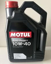 4 LITRI OLIO MOTUL 2100 POWER + 10W40 TECHNOSYNTHESE A3 B4 VW 501.01 505.00