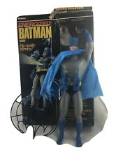 "VINTAGE 1978 REMCO ENERGIZED 12"" BATMAN WITH BOX & ACCESSORIES"