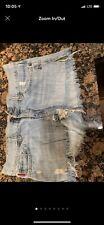 Hollister Jeans Shorts Size 7 Destructive